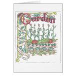 Garden Vegetables Card