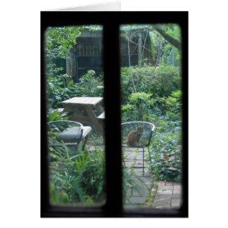 Garden View ©2008 Greeting Card