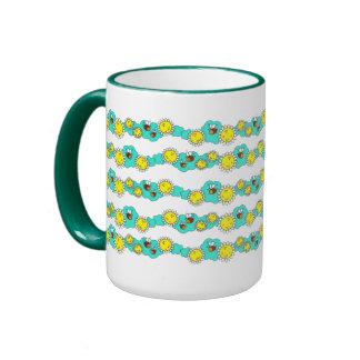 Garden View Ringer Mug