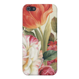 Garden View Tossed Flowers iPhone 5/5S Case