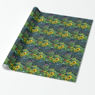 Garden View Wrapping Paper