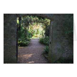 Garden Vista Greeting Card