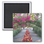 Garden Walk Floral Magnet