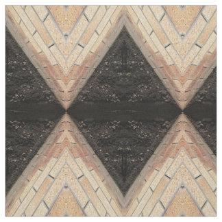 garden wall diamonds pattern, fabric