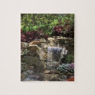 Garden Waterfall Puzzle
