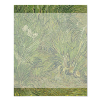 Garden with Butterflies by Vincent Van Gogh 11.5 Cm X 14 Cm Flyer