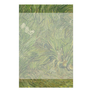 Garden with Butterflies by Vincent Van Gogh 14 Cm X 21.5 Cm Flyer