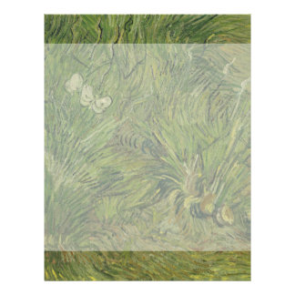 Garden with Butterflies by Vincent Van Gogh Personalized Flyer