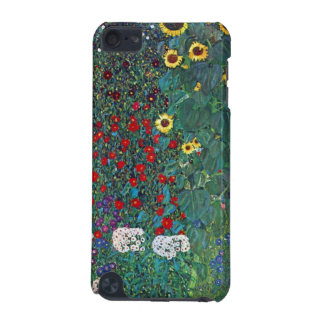 Garden with Crucifix 2 lg by Gustav Klimt iPod Touch (5th Generation) Case