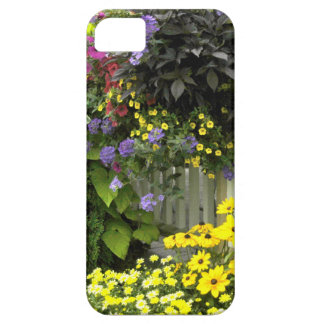 Garden with fence iPhone 5 cover