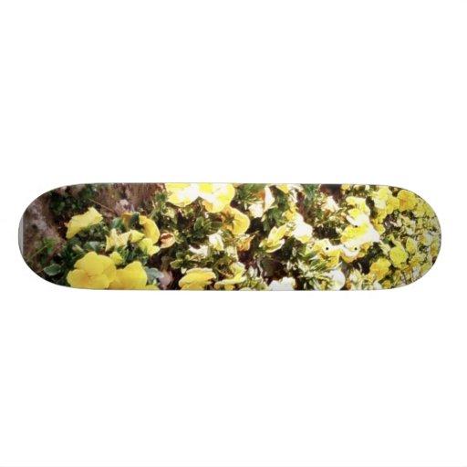 Garden With Flowers Skate Board Decks