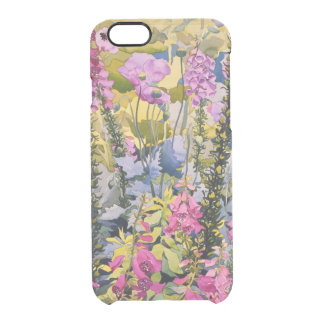 Garden with Foxgloves Clear iPhone 6/6S Case