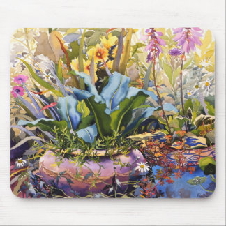 Garden with Plants 2000 Mouse Mat