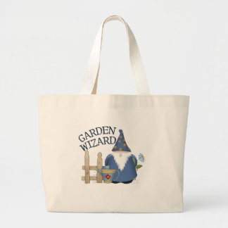 Garden Wizard Tote Bags