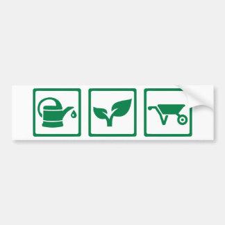 Gardener Bumper Sticker