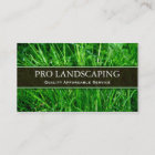Gardener / Landscaping Business Card