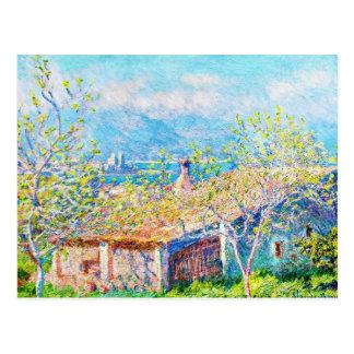 Gardener's House at Antibes Claude Monet Postcard