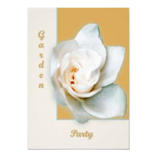 Gardenia 13 Cm X 18 Cm Invitation Card