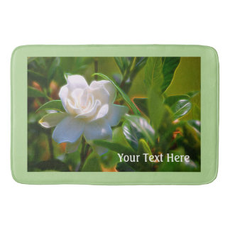 Gardenia Bloom Bath Mats