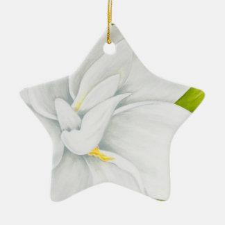 Gardenia Christmas Ornament