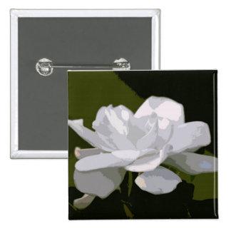 Gardenia Elegance Button