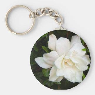 Gardenia Keychain
