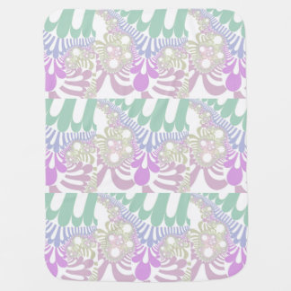 Gardenia Mod Baby Blanket