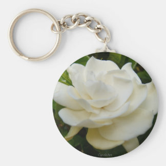 Gardenia Pure Keychain