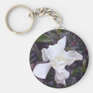 Gardenia tints basic round button key ring