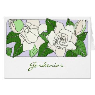 Gardenias Card