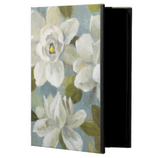 Gardenias on Slate Blue iPad Air Cover
