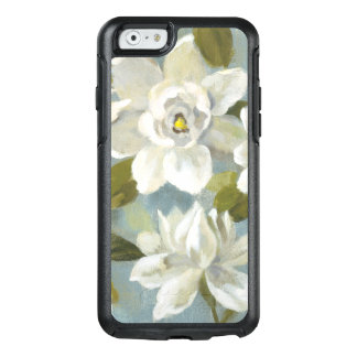 Gardenias on Slate Blue OtterBox iPhone 6/6s Case