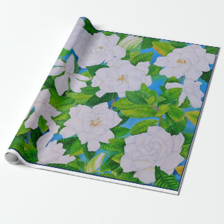 Gardenias Wrapping Paper