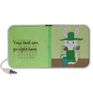 Gardening Bunny Speaker