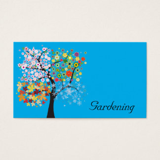 Gardening Business Card