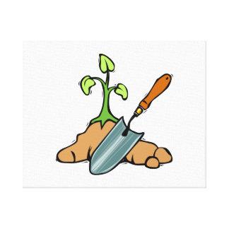 Gardening Canvas Print