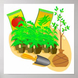 Gardening Goodies Poster
