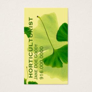 Gardening Herbalist Business Card