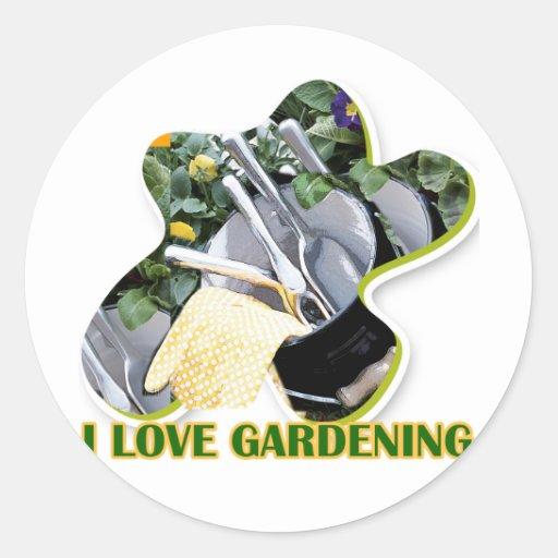 Gardening iGuide Flowers and Shrubs Sticker