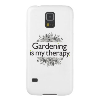 Gardening is my therapy galaxy s5 cover