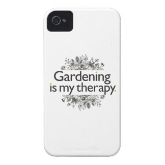 Gardening is my therapy iPhone 4 covers