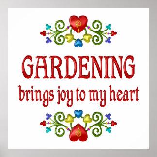 Gardening Joy Print