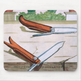 Gardening Knife, from 'Hesperides' by Giovanni Bat Mouse Pad