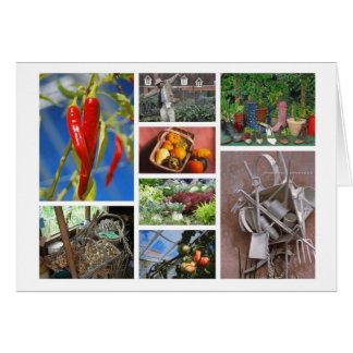 Gardening-lover's card