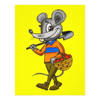 Gardening Mouse 21.5 Cm X 28 Cm Flyer
