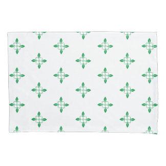 Gardening pattern pillowcase