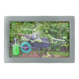 GARDENING RECTANGULAR BELT BUCKLE