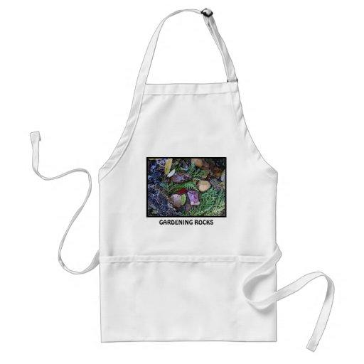 gardening rocks apron