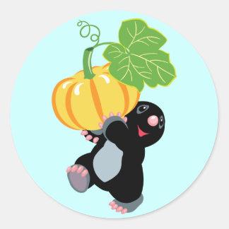 gardening round sticker