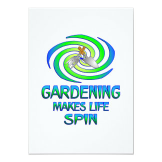 Gardening Spins Card